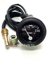 Temperature Black Gauge for Ford Tractor 2N 8N 9N NAA 601 700 801 901 2000 4000