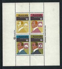 1976 National Stamp Week Miniature sheet MUH