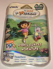 Vtech V.Smile V-Motion Nick Dora's Fix It Adventure Active Learning System New