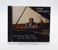 DOM SALVADOR ROMANTIC INTERLUDE AT THE RIVER CAFE Very Rare CD Album Complete VG