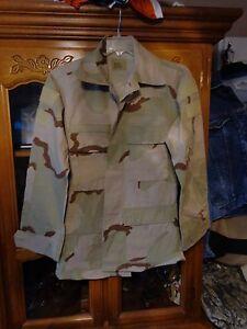 RAID MODIFIED MARSOC Shirt BDU SMALL REG HOOK DESERT TAN USGI SUMMER WEIGHT S