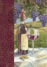 Garden Flag, Wine and Grapes, Vino