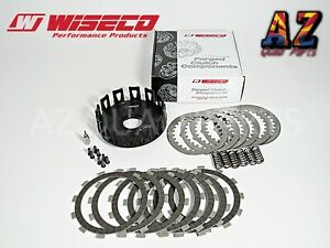 00-07 Honda CR125 CR 125 Wiseco Heavy Duty Billet Clutch Basket Fiber Spring