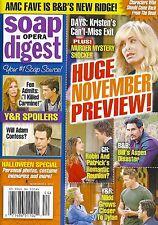 Soap Opera Digest Magazine - November 4, 2013 - Days of Our Lives, Amelia Heinle