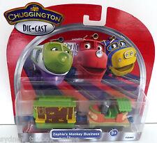 Chuggington Die-Cast Zephie's Monkey Business DISCOUNTED