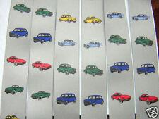 "MENS BRACES CLASSIC CAR,MINI,JAGUAR,FORD,VW BEETLE,MG,MORRIS 2"" BRACE YOURSELF"
