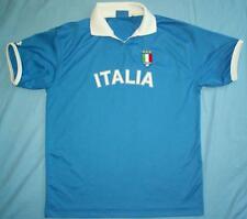 ITALY (ITALIA) / #10 - LOTTO - JUNIOR football blue polo Shirt. Size: XLY