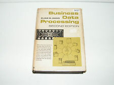 Business Data Processing Elias M Awad 1968 2nd Edition