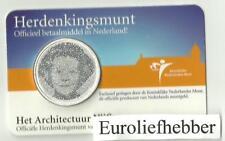 COINCARD     NEDERLAND   Herdenkingsmunt  2008  Architectuur Vijfje.in COINCARD
