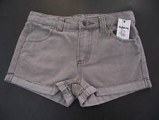 Bnwt Girls Sz 6 Rivers Doghouse Brand Super Cute Pale Grey Denim Shorts