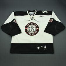 2010-11 Billy Sauer Las Vegas Wranglers Game Used Worn ECHL Hockey Jersey!