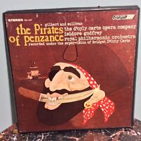 The Pirates of Penzance (Vinyl Lp Box set) by Gilbert and Sullivan
