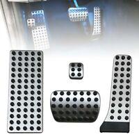 4pcs DIY Footrest Gas Brake Pedal For Mercedes Benz W205 C205 W212 W213 C E GLC