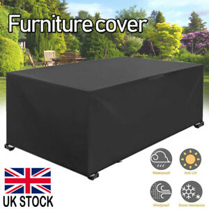 Large Waterproof Garden Patio Furniture Cover Outdoor Rattan Table Seat Covers