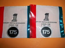 HARLEY AERMACCHI AMF NOS 175 STICKERS SS175 SX175  24545-78P