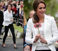 Zara Waffel Pique Blazer Jacke Jacket  creme ivory neu new XS – ASO Royal