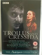Troilus And Cressida (DVD) BBC Shakespeare Collection, Rare 1981 Adaptation