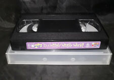 The Wiggles - It's A Wiggly Wiggly World! - Video Cassette - VHS - Tape Only