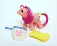 Vintage G1 My Little Pony Peek-a-boo BABY SWEET STUFF & Accessories!