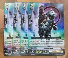4 x PLAYSET Cardfight Vanguard Foil Link Joker Promo Deimos Bear PR/0309EN Nm