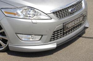 Rieger Spoilerlippe Lippe mit Schwert passend für Ford Mondeo BA7 00032101 32102
