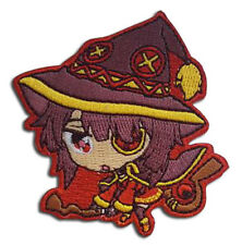 KONOSUBA Megumin Anime iron on Patch new and sealed 100% authentic and licensed