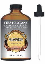 100% NATURAL PURE Frankincense Essential Oil with Glass Dropper - Big 4 Fl. Oz