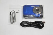 ION Cool-iCam 8MP S1000 Waterproof Digital Camera 2.4 Screen BLUE