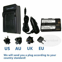 Battery+Charger for Canon Digital Rebel DS6041 Pro90 IS Pro 1 G1 G2 G3 G5 G6