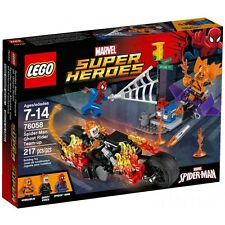 LEGO 76058 Marvel Super Heroes Spider-Man Ghost Rider Team-Up 217pcs NEW