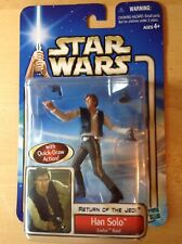 Star Wars Han Solo Endor Raid Saga 2002 Blue Card  ~ MInt On The Card~