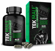 TEKMale™ All Natural #1 Rated Male Enhancement - 11 Ingredients 30 Days