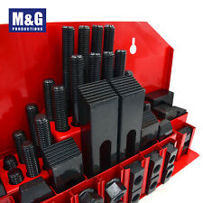 Clamping kit, Bolts T-Nuts Clamps, Step Blockes  M10,M12,M14,M16