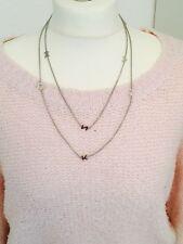 DKNY Damen-Halskette Edelstahl silberfarben, NJ1395040