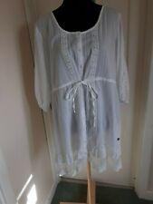 Joe Browns .Ladies pretty white cotton top  ( size 20 ) summer.
