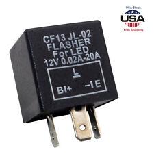 3-Pin Car Flasher Relay Fix LED Light Turn Signal Hyper Flash CF13 CF13JL EP-34