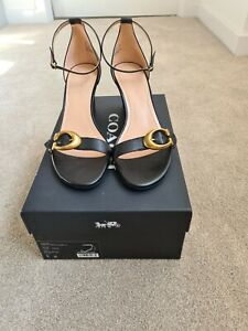 Coach Odetta Wedges Size US9B (UK7) New With Box