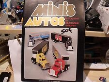 MINIS AUTO MAGAZINE,#73,12/1981,IN FRENCH, 52 PAGES,CADILLAC,DIE CAST,EXCCOND