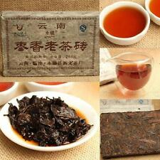 1990s 250g Yunnan JingMai Ancient Tree Jujube Pu'er Puer puerh Ripe Brick Tea N
