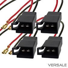 4x Lautsprecher Adapter Kabel für VW Audi Seat Skoda Opel Renault Volvo Auto KFZ