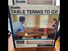 Franklin Table Tennis To Go Ages 6+ NEW