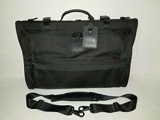 NWOT TUMI Alpha 2 Tri-Fold CARRY-ON Garment Travel BAG Black (22133DH)