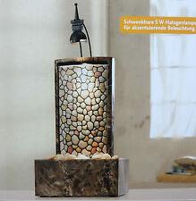 Zimmerbrunnen mit Beleuchtung Brunnen Luftbefeuchter Dekobrunnen Wasserwand NEU