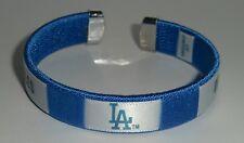 Los Angeles Dodgers Fan Band Bracelet MLB Licensed Baseball Jewelry