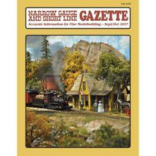 Narrow Gauge and Short Line GAZETTE: Sept/Oct 2017 - (BRAND NEW issue)
