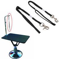 DOG PET NOOSE LOOP LOCK CLIP ROPE LEAD FOR GROOMING TABLE ARM BATH SMART