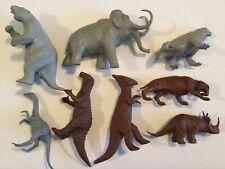 1960s Marx Rare 2nd series complete set Dinosaur Prehistoric mammal Playset