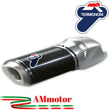 Scarico Termignoni Ducati Multistrada 1200 10 - 2014 Silenziatore Carbonio Moto