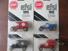 4- efsi T-Ford diecast trucks [now further Reduced ]