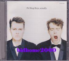 Pet Shop Boys - Actually CD Japan (TOCP-3199) 日本版